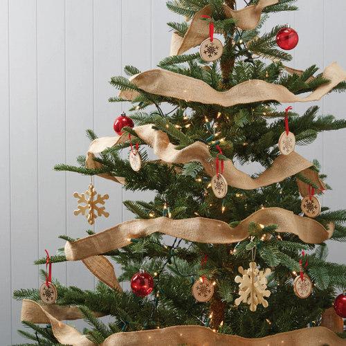 Kerstboom slingers