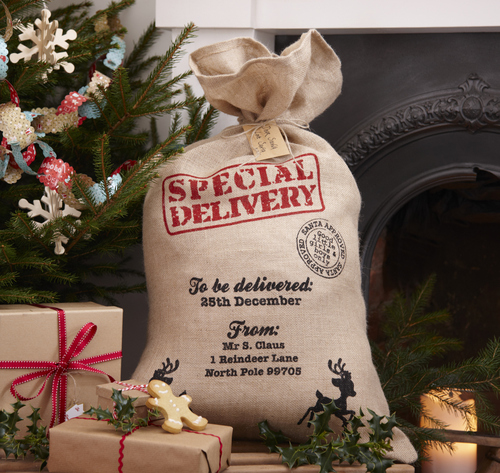 Kerstsokken en cadeautassen