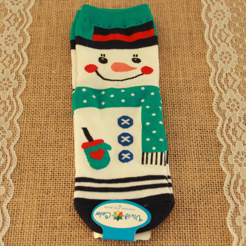 kerstsokken-sneeuwpop