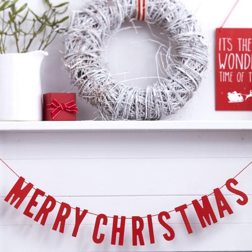 houten-slinger-merry-christmas-rood