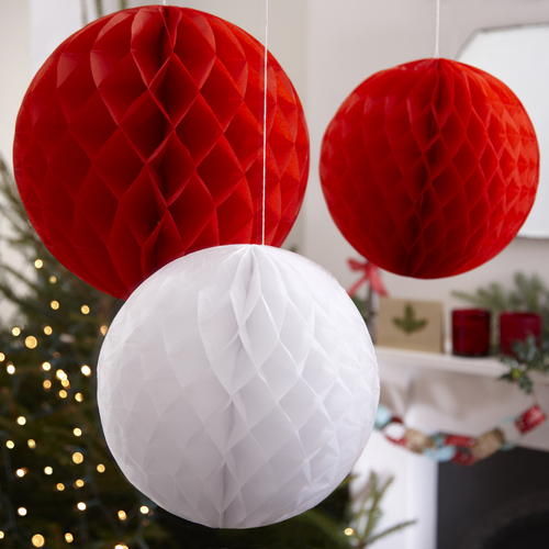 kerst-honeycombs-rood-wit