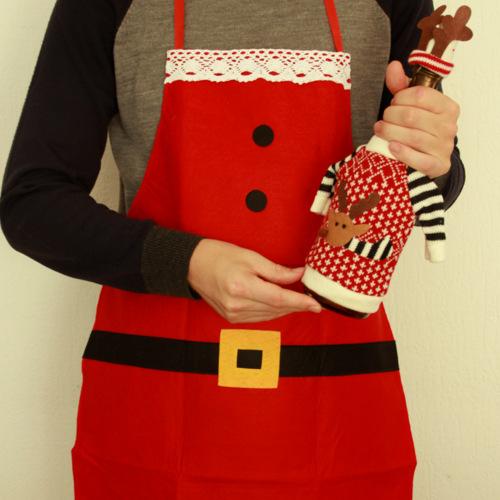 keukenschort-kerstman