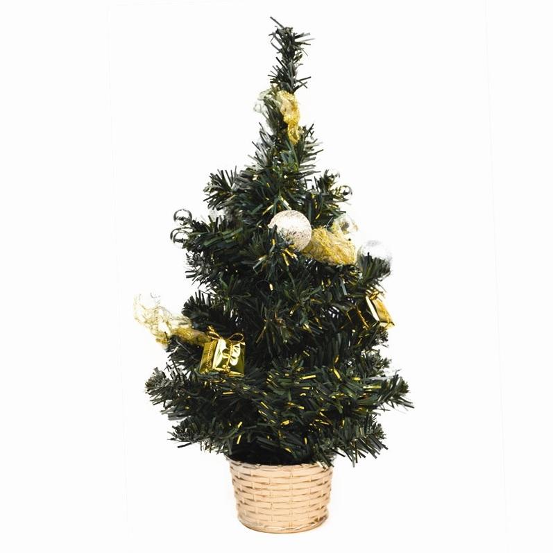 gedecoreerde-mini-kerstboom-goud