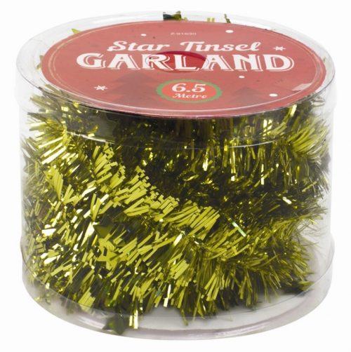 guirlande-slinger-ster-goud