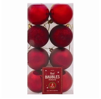 kerstballen-rood-8st