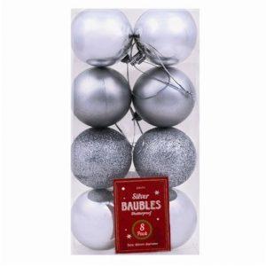 kerstballen-zilver-8st