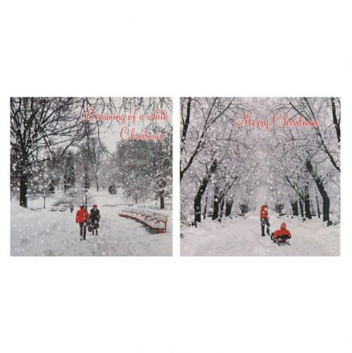 kerstkaarten-snowscene