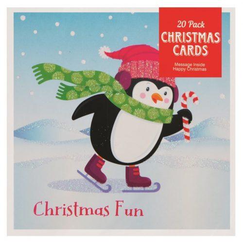 mini-kerstkaarten-pinguin