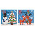 mini-kerstkaarten-sneeuwpop-en-rendier