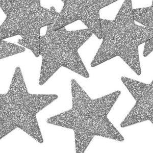 kerstversiering-decoratie-sterren-silver-glitter