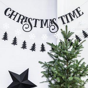kerstversiering-diy-slinger-christmas-time-zwart