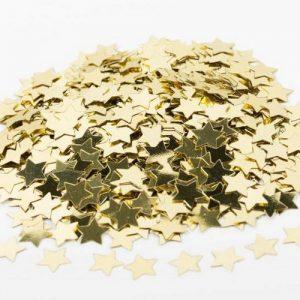 kerstversiering-sterretjes-confetti-goud