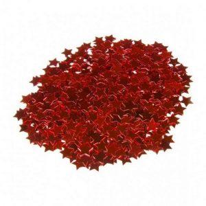 kerstversiering-sterretjes-confetti-rood
