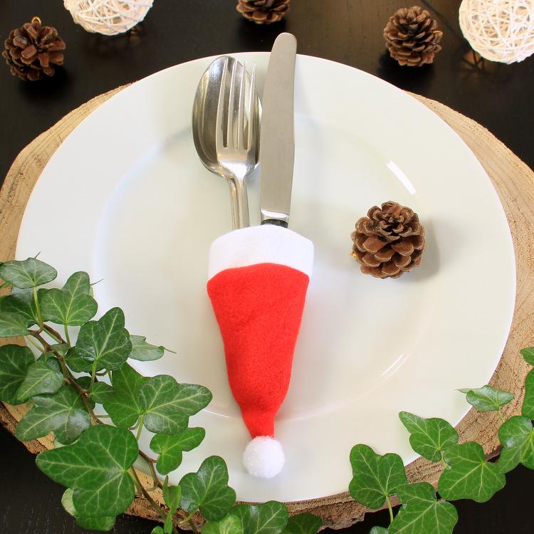 Bestekhouder 'Kerstmuts'