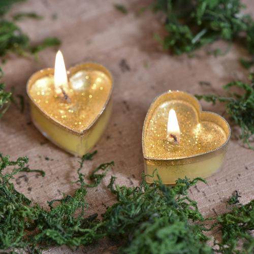 kaarsje-hart-goud