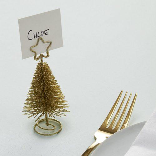 Plaatskaarthouders-kerstboom-goud
