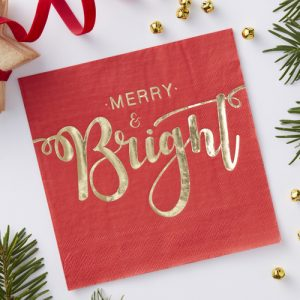 kerstversiering-kerstservetten-merry-and-bright