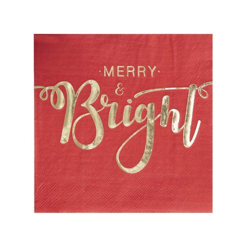 kerstversiering-kerstservetten-merry-and-bright