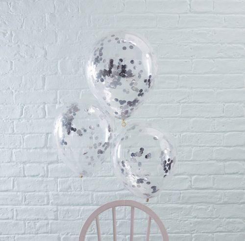 kerstdecoratie-ballonnen-zilver