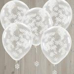 kerstdecoratie-ballonnen-snowflake