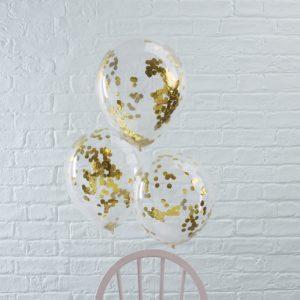 kerstversiering-confetti-ballonnen-goud
