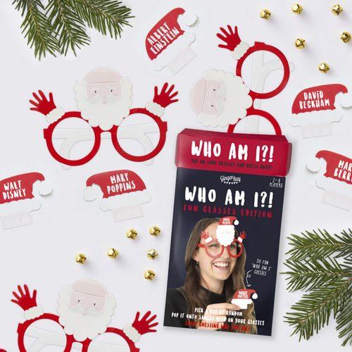 Wie-ben-ik-Christmas-Game
