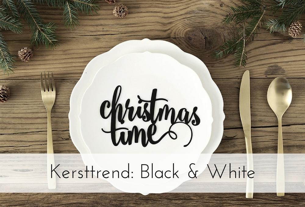 Kersttrend 2017: Black & White Christmas