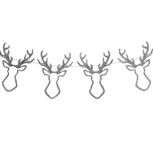 kerstversiering-houten-rendier-slinger-silver-glitter-christmas-night