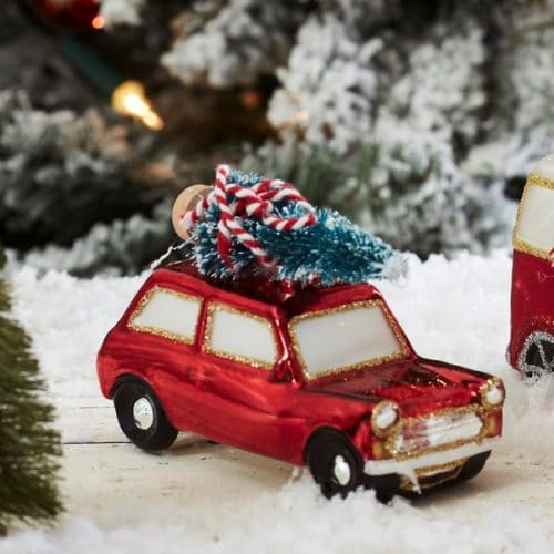 kerstversiering-kerstornament-red-car-2