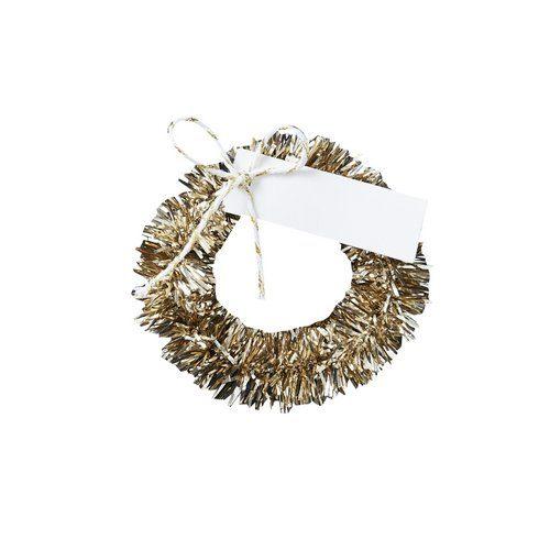 kerstversiering-plaatskaartjes-gold-wreath-christmas-night