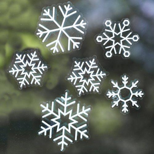 kerstversiering-raamsticker-snowflake-rustic-christmas