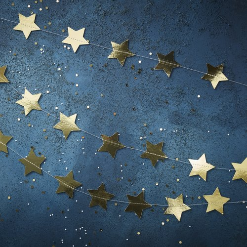 kerstversiering-slinger-star-gold-foil-christmas-night-2
