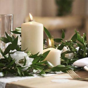 kerstverlichting-kaarsen-ivoor