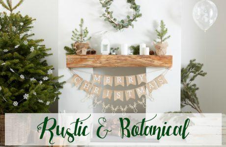 Kersttrend 2018: Rustic & botanical