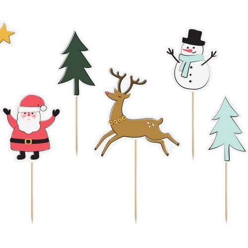 kerstversiering-cupcake-toppers-christmas-coodles
