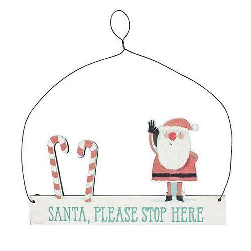 kerstversiering-hangend-bordje-santa-stop-here