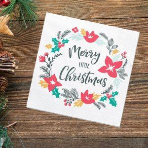 kerstversiering-servetten-merry-little-xmas-christmas-doodles