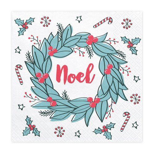 kerstversiering-servetten-noel-christmas-doodles