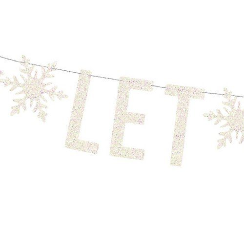 kerstversiering-slinger-let-is-snow-holographic-wit-2
