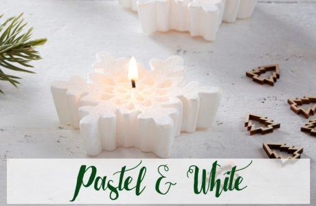 Kersttrend 2018: Pastel & White kerstversiering
