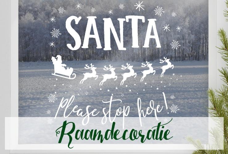 Kerst Raamdecoratie Kerstversiering What A Wonderful Christmas