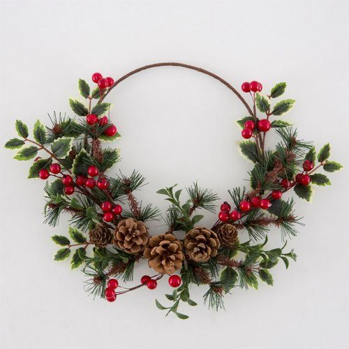 Kerstkrans-Festive-FoliageKerstkrans-Festive-Foliage