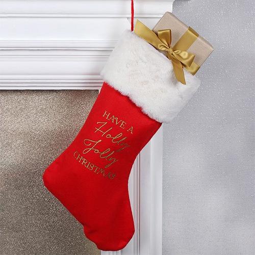kerstversiering-kerstsok-jolly-christmas