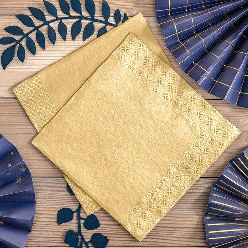kerstversiering-servetten-metallic-gold-2