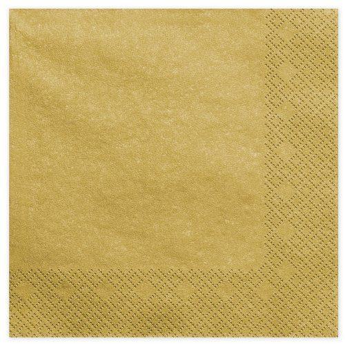 kerstversiering-servetten-metallic-gold