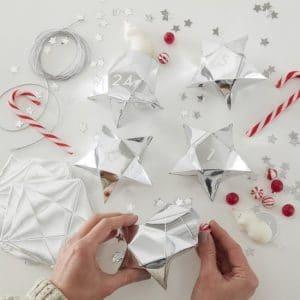 kerstversiering-adventdoosjes-kit-silver-star-silver-glitter-2