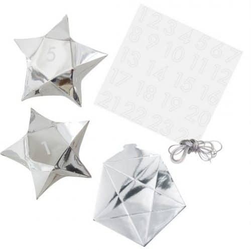 kerstversiering-adventdoosjes-kit-silver-star-silver-glitter