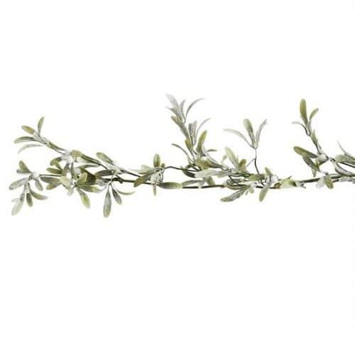 kerstversiering-mistletoe-guirlande-let-it-snow