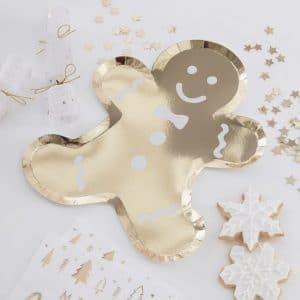 kerstversiering-papieren-bordjes-gingerbread-man-gold-glitter