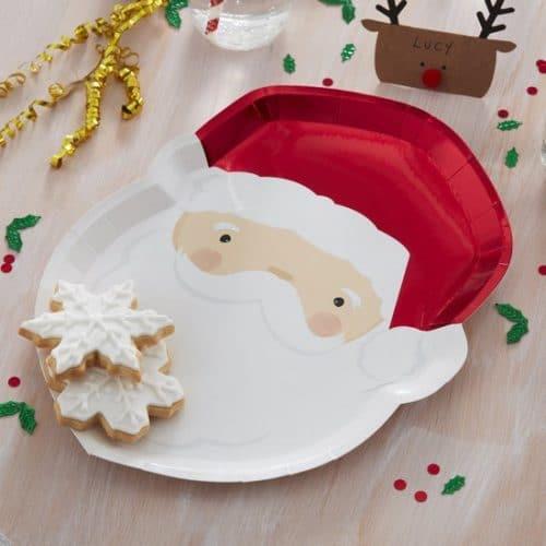 kerstversiering-papieren-bordjes-silly-santa